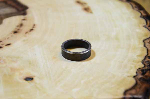 moneda en anillo apariencia final