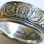 Transformar en un anillo una moneda