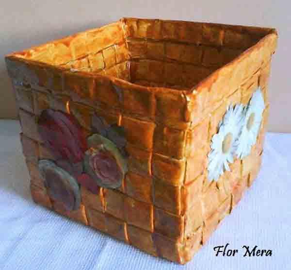 manualidades creativas reciclando papel 11
