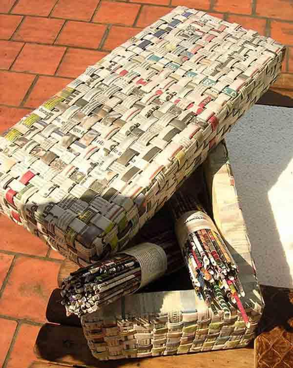 manualidades creativas reciclando papel 15