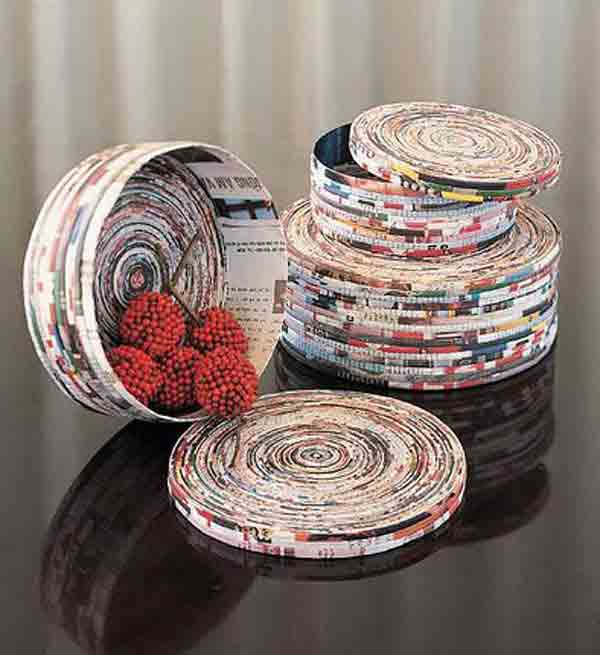 Seis manualidades que puedes hacer con papel reciclado | manualidades.