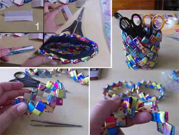 manualidades creativas reciclando papel 20