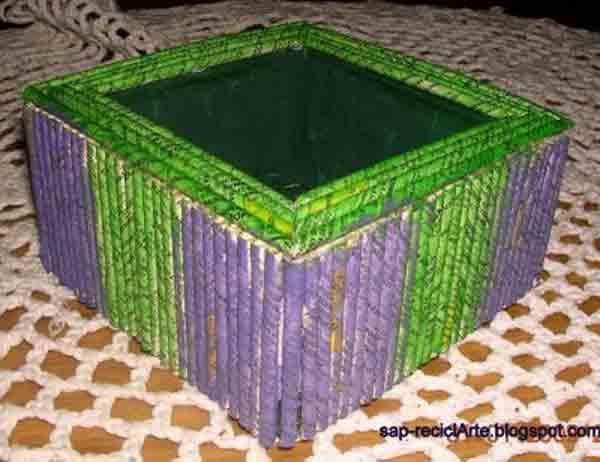 manualidades creativas reciclando papel 23
