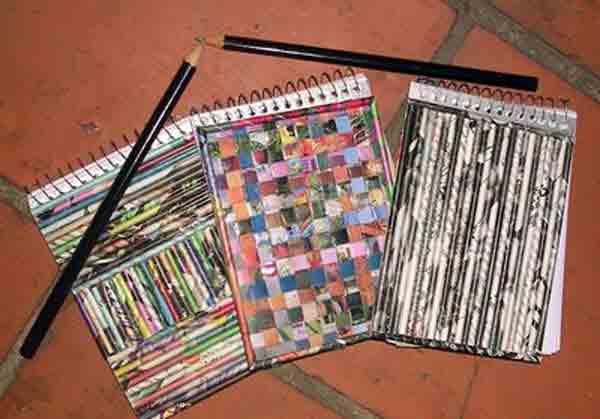 manualidades creativas reciclando papel 25