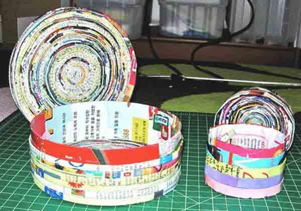 manualidades creativas reciclando papel 3