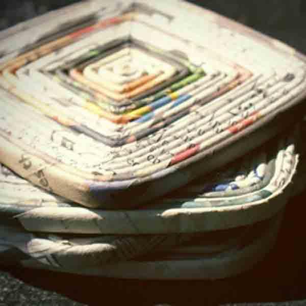 manualidades creativas reciclando papel 30