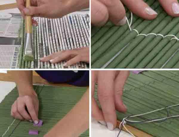 manualidades creativas reciclando papel 40