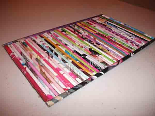 manualidades creativas reciclando papel 44