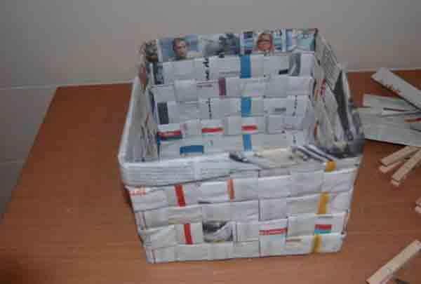 manualidades creativas reciclando papel 6
