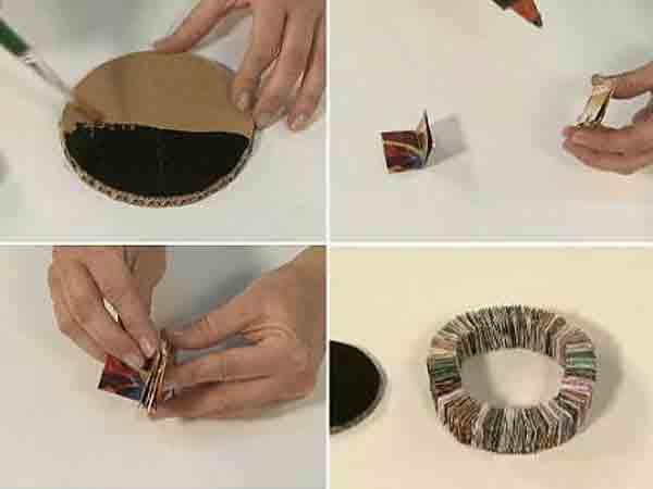 manualidades creativas reciclando papel 7a