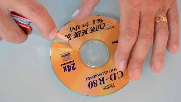 Despellejar CDs