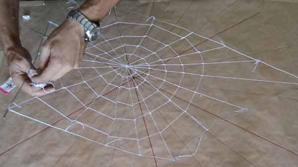 4 realizacion del entramado en espiral