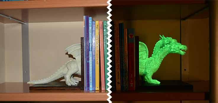sujeta-libros-infantil-luminiscente