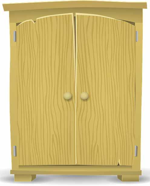 cambiar la puerta del armario