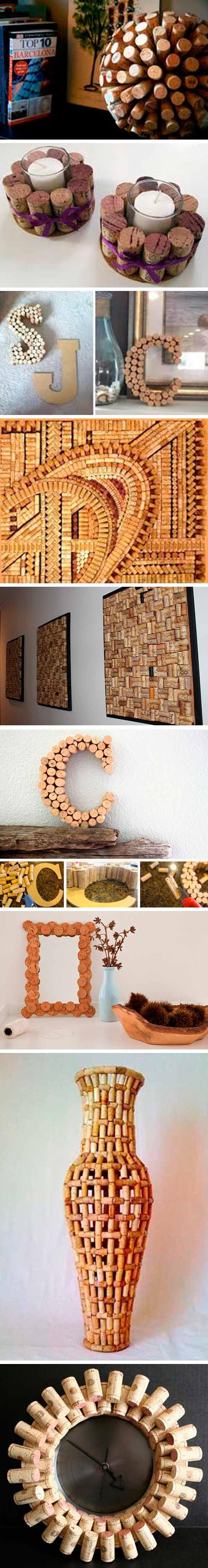 reciclar tapones de corcho - decoracion 3