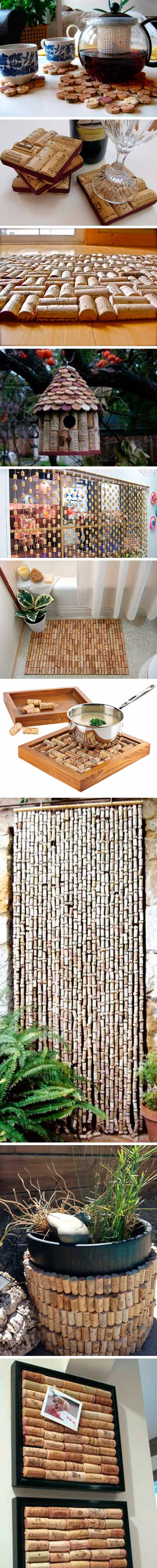 reciclar tapones de corcho - hogar 1