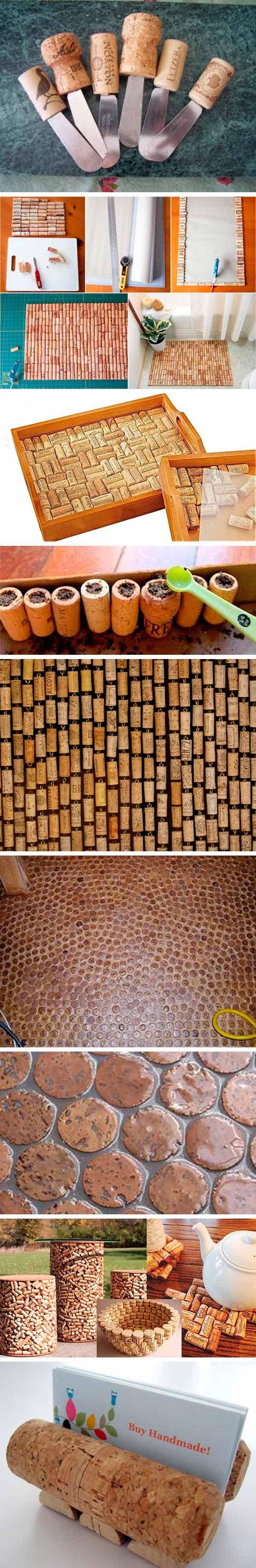 reciclar tapones de corcho - hogar 3