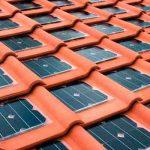 Tejas solares fotovoltaicas, productoras de energía ecológica