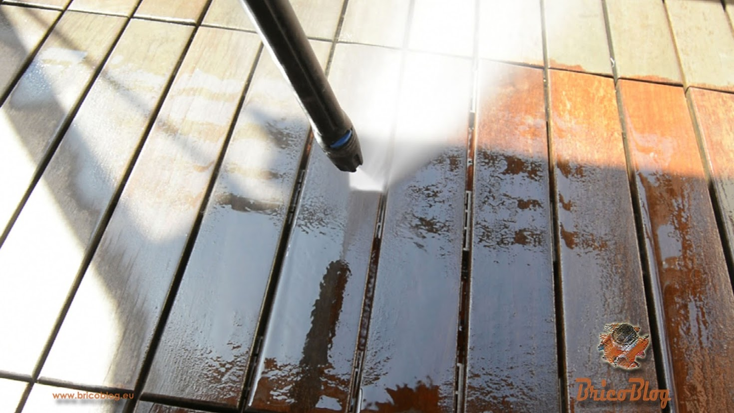 como limpiar el suelo del patio o terraza - foto 2