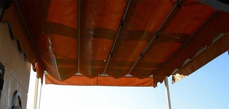 Silicona líquida, cómo impermeabilizar toldos