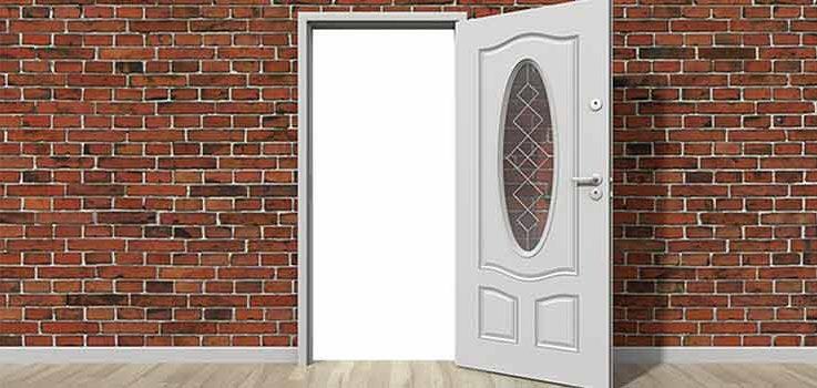 Cómo colocar una puerta