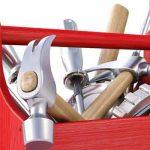 caja de herramientas elementos - destacada