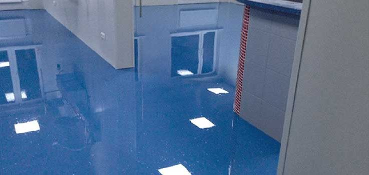 Cómo son los pavimentos de resina epoxi