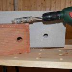 Brocas para materiales de construcción en bricolaje