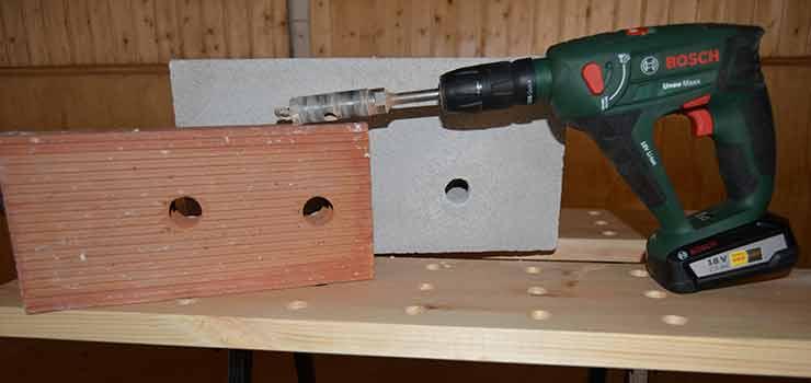 Brocas para materiales de construcción en bricolaje - destacada