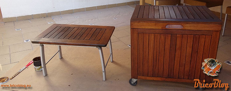 Como proteger la madera de exteriores - Despues de la segunda mano de acabado - foto 7