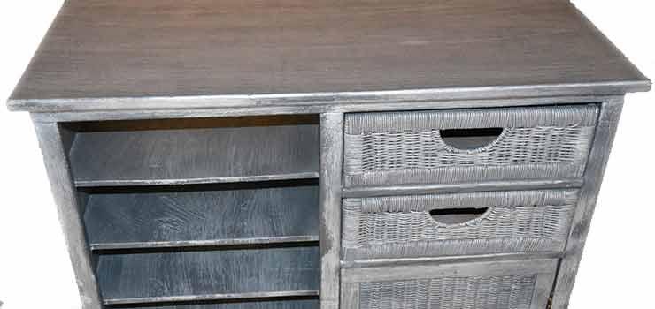 Tunear un mueble viejo cambiando radicalmente su look for Mueble viejo