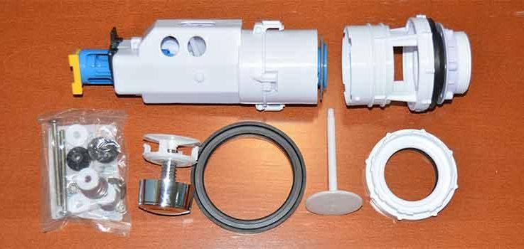 Sustituir mecanismo de cisterna de wc