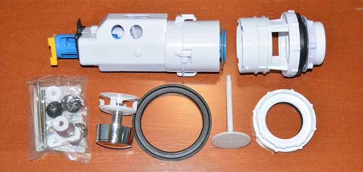 Sustitucion de un mecanismo de cisterna de wc - destacada