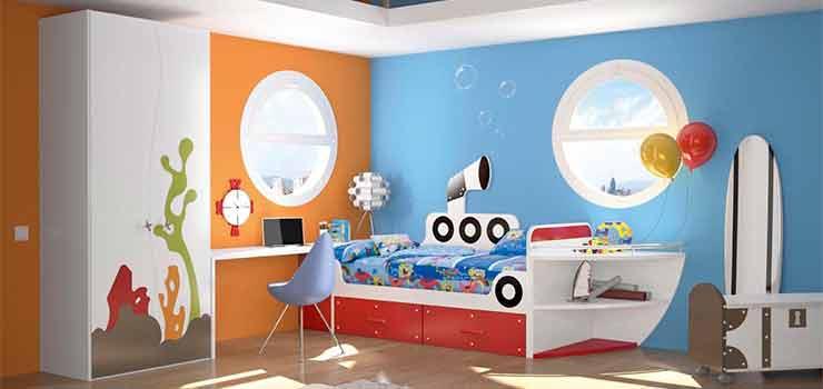 Decorar las habitaciones de los niños - destacada