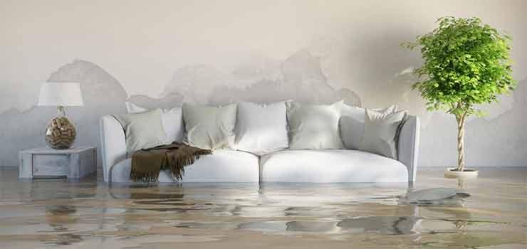Problemas de humedad en casa - destacada