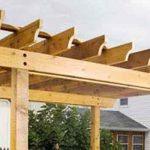 construir pergola de madera - Destacada