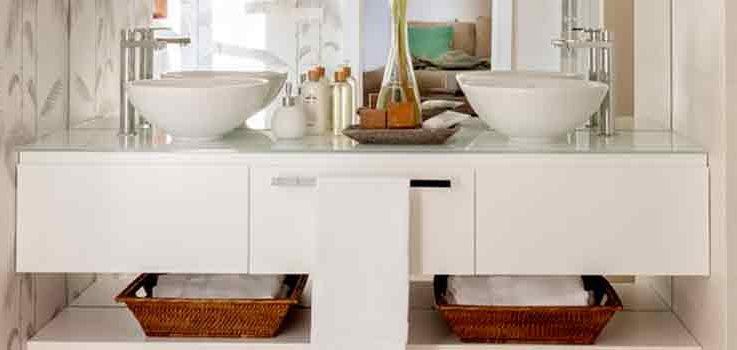 Muebles auxiliares para baños