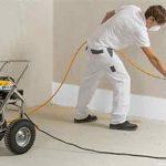 pintar paredes con un compresor de aire - destacada