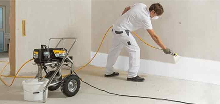Pinta tus paredes con un compresor de aire