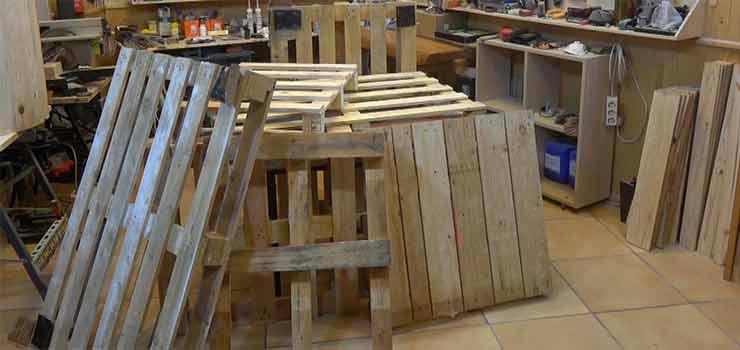 reciclar palets y recuperar la madera - destacada