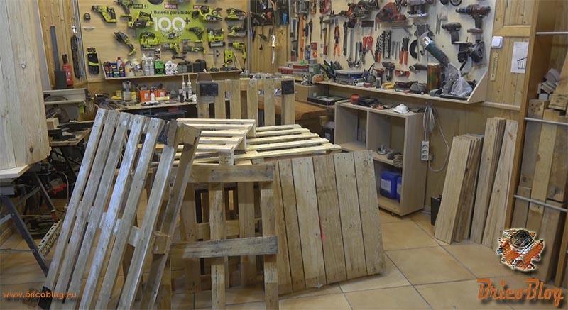 reciclar palets y recuperar la madera - foto 1