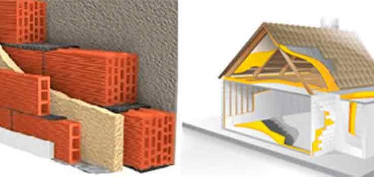 Aislamiento térmico e ignífugo en el hogar