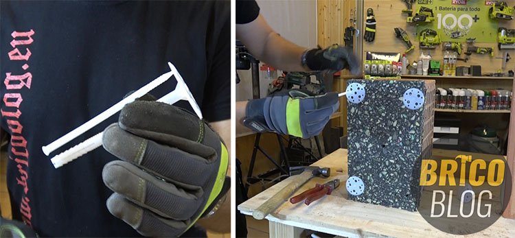 fijaciones para bricolaje 5 - taco para paneles aislantes