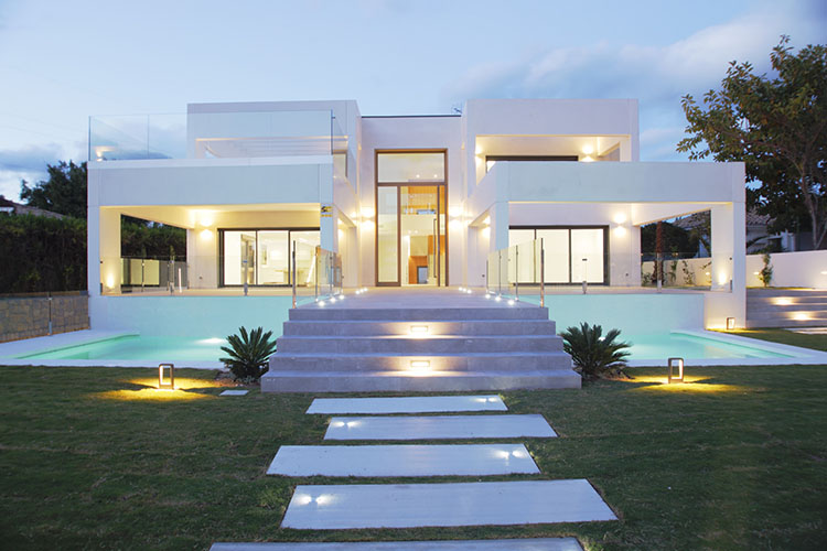 viviendas modulares de hormigon - foto