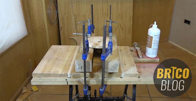 como hacer un torno para ceramica - foto 11