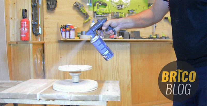 como hacer un torno para ceramica - foto 13