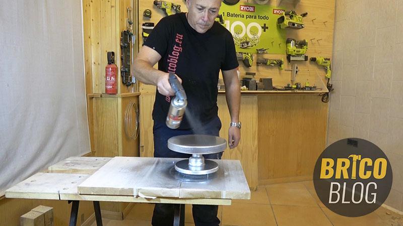 como hacer un torno para ceramica - foto 14