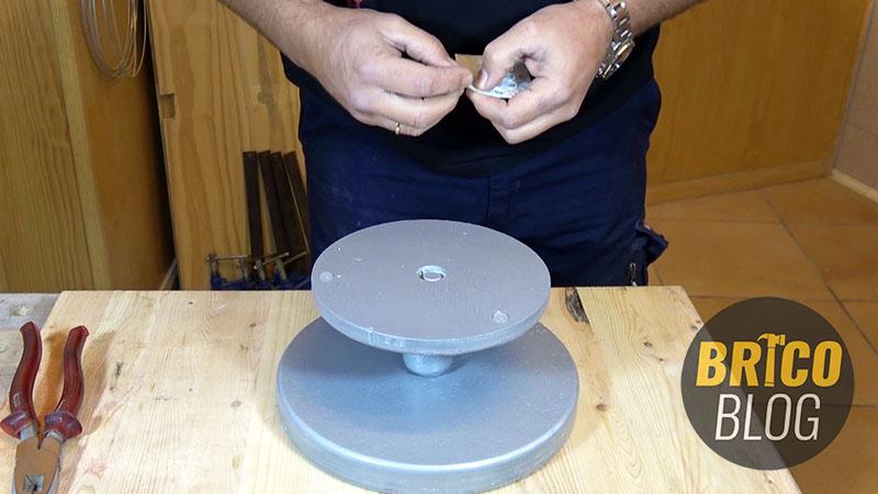 como hacer un torno para ceramica - foto 15