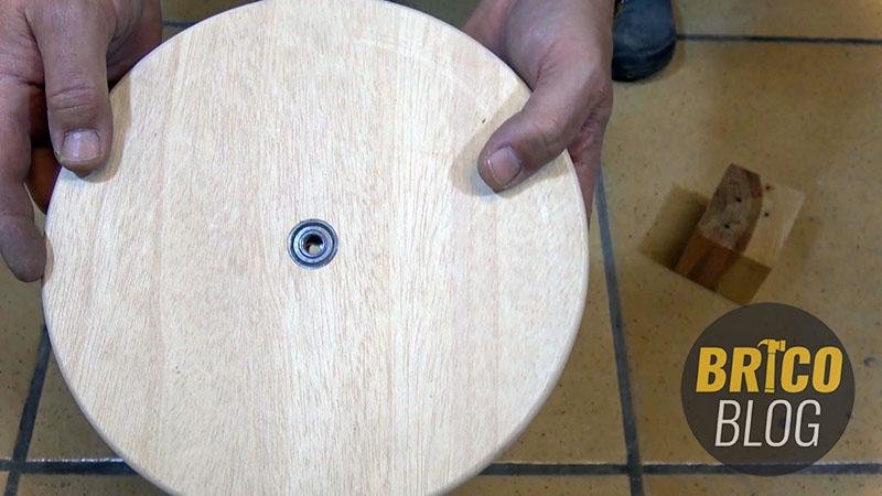 como hacer un torno para ceramica - foto 9